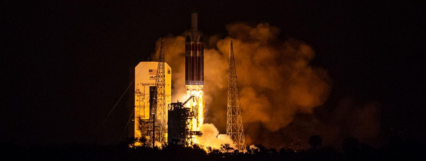 Parker Solar Probe liftoff