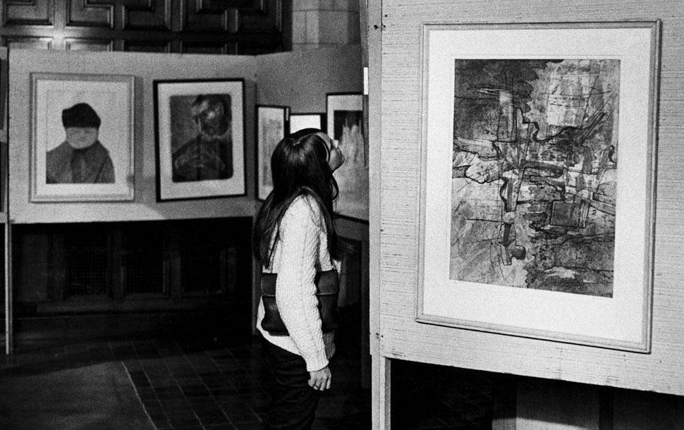 Archive photo in Ida Noyes
