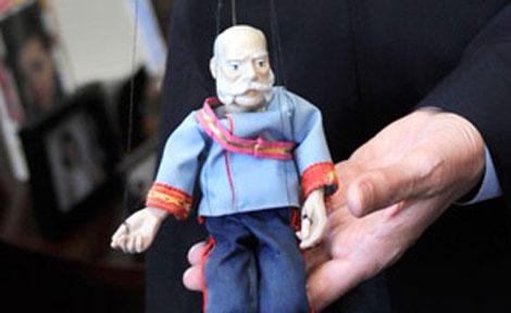Franz Joseph puppet
