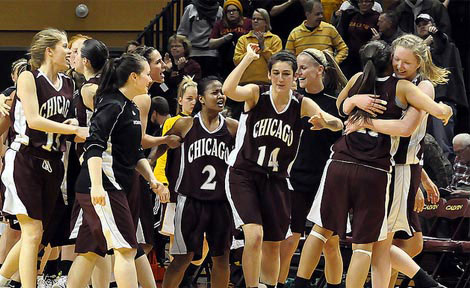 uchicago women's basketball