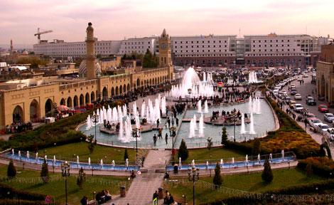 Erbil in Kurdistan province