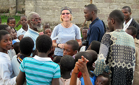Jeanne Ratzloff in Congo