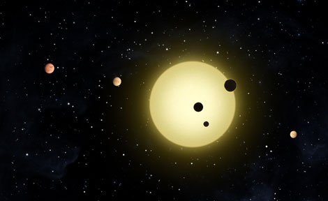 Kepler artistic rendering