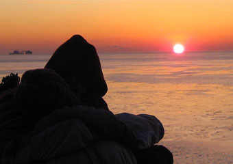 kuvia sunset
