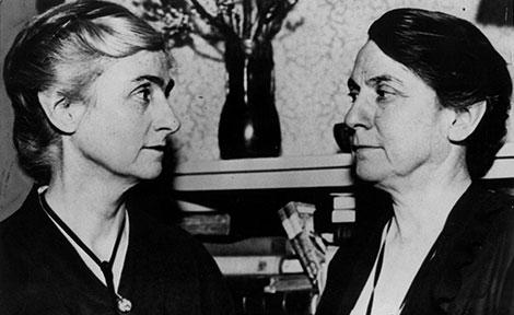 Edith and Grace Abbott