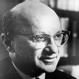 the monetarist theory milton friedman Get the definition of 'monetarism' in thestreet's dictionary of financial terms   monetarism's leading advocate is the economist milton friedman central to.