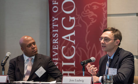 Jens Ludwig, McCormick Foundation Professor of Social Service Administration, Law, and Public Policy; Director, University of Chicago Crime Lab; Co-Director, University of Chicago Urban Education Lab