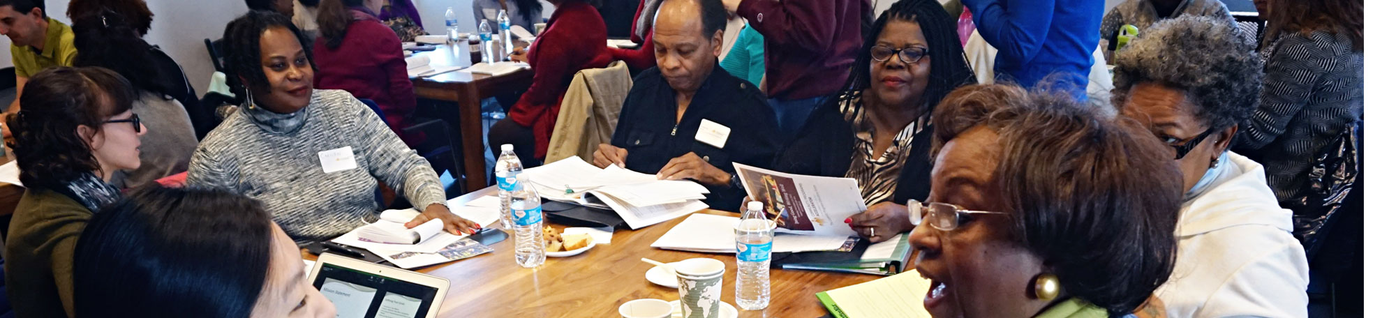 Participants at the Doing Good, Writing Well workshop